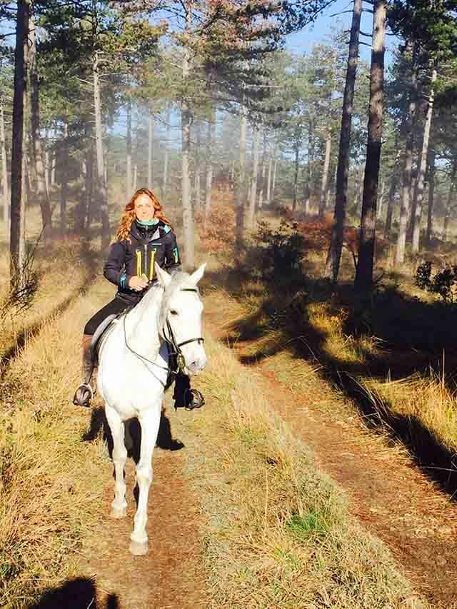 Consejos de un yogi para montar a caballo