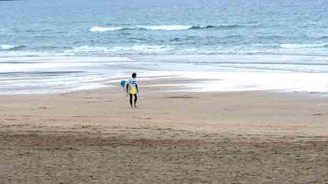 El yoga y el surf