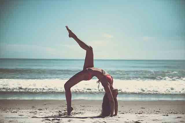 El yoga y la columna