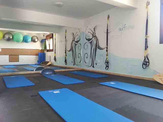 El surfness comenzo en el Centro Cultural de Loredo y el Centro de Surf de Somo