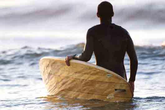 Kun Tiqi tablas de surf de madera de balsa