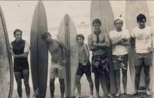 Meco fue finalista en el campeonato de España de surf de 1969