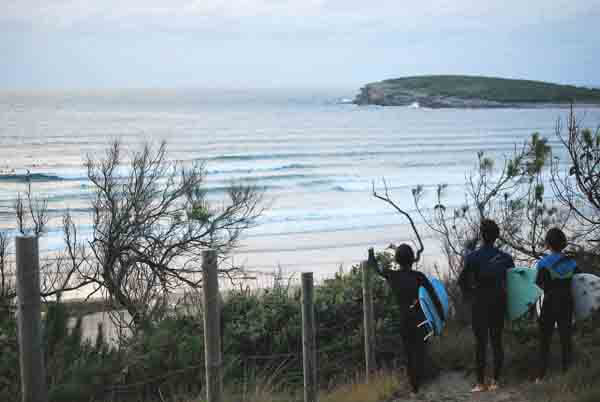 Seguridad en las clases de surf de KOA