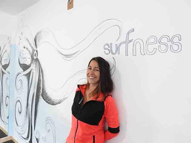 TERESA GARCÍA LALAGUNA integrante equipo escuela de surf KOA