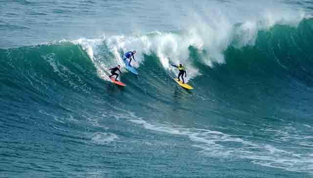 Padle surf y olas grandes