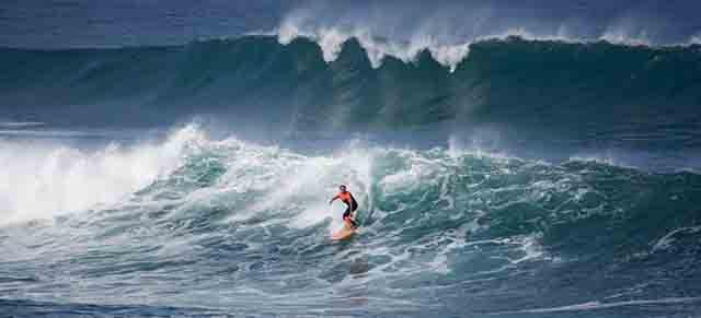 Surf de olas grandes