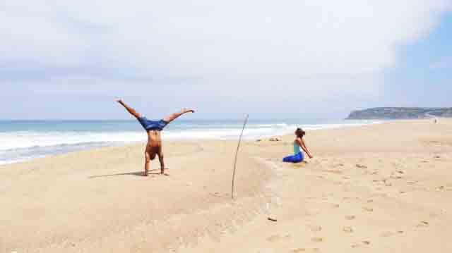Surf y yoga combinacion perfecta