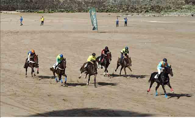 Alto niverl en las carreras de caballos