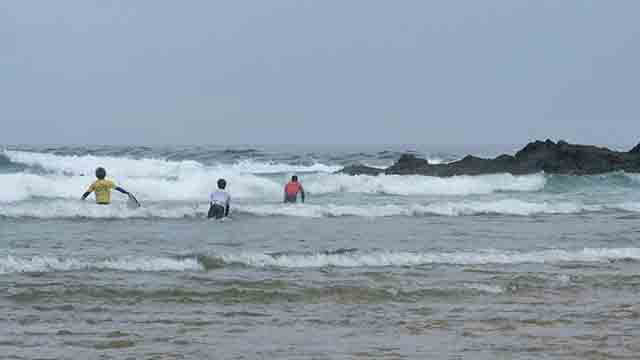 La ola más grande es la ola ganadora