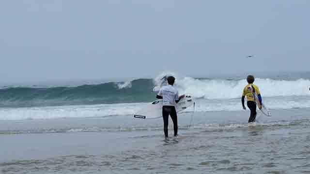 La vida de un surfista profesional