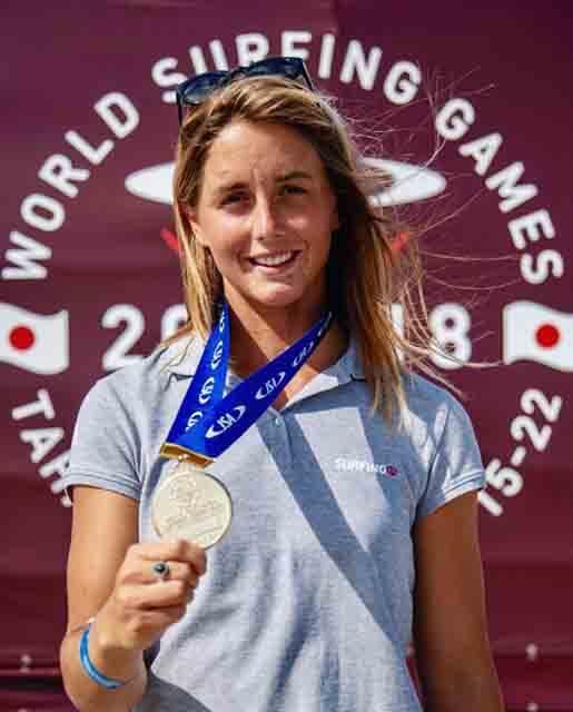 Medalla de oro para Leticia Canales