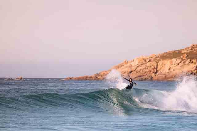 Puntos fuertes del surfing de Vicente Romero