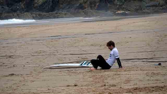 Rutina de entreno para surf de Vicente Romero