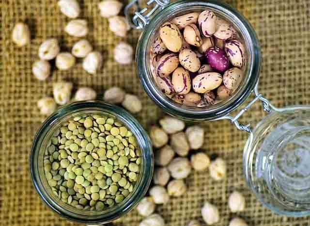 Las semillas legumbres y frutos secos son ricas en magnesio