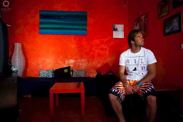 Joao Guedes un apasionado del mar