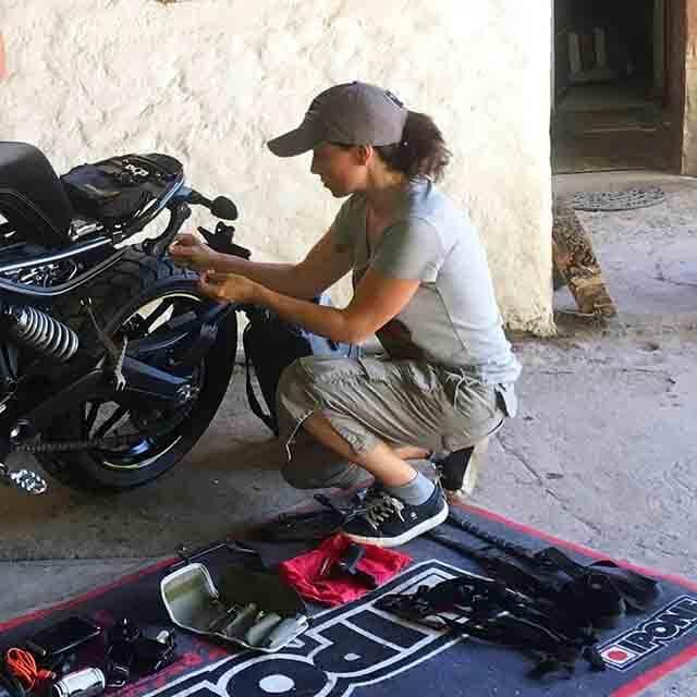 Alicia Sornosa y su pasión por el motor