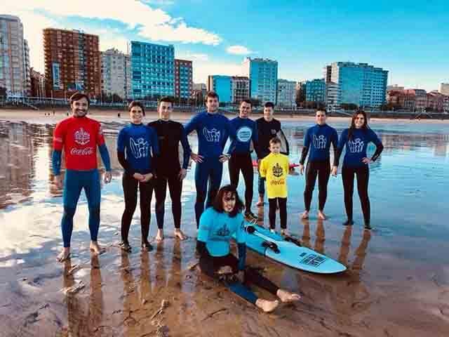 Jornada intensa de Surf Solidario