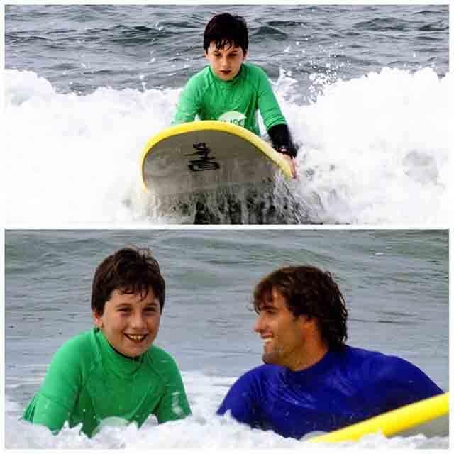 ONG Surf Solidario discapacitados y voluntarios