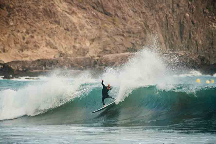 Andy Criere emotional surfer