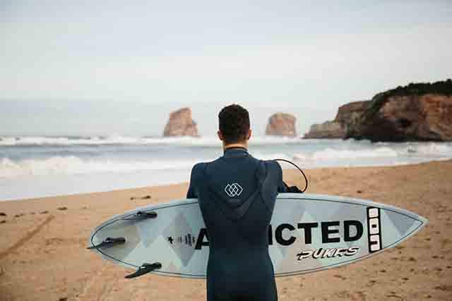 La vida de un campeon de surf