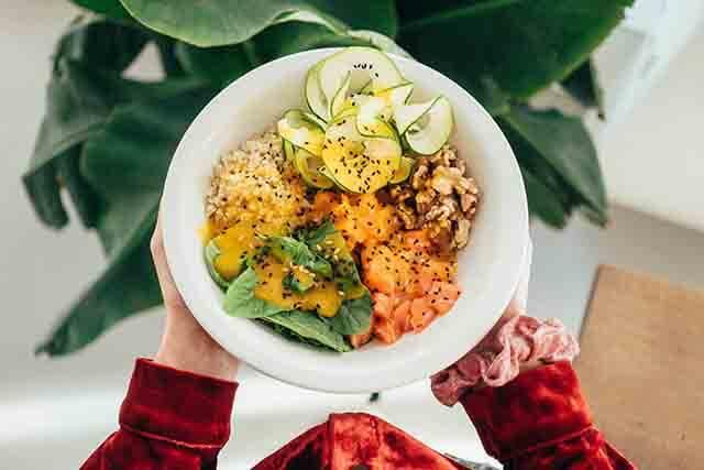 Tidore yoga food