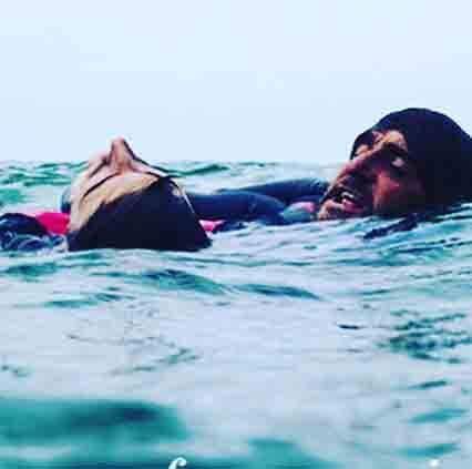 Jonan Etxebarria olas grandes de La Galea