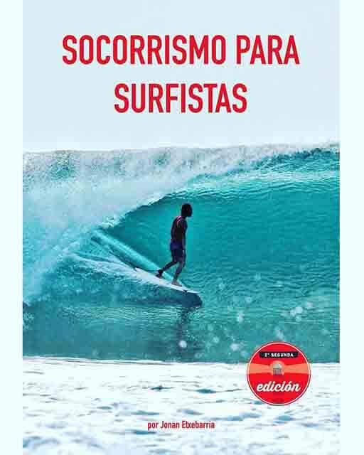 Libro Socorrismo para surfistas de Jonan Etxebarria