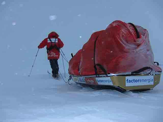 Expedición Antartida en solitario Albert Bosch